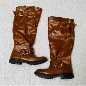 Bamboo riding boots
